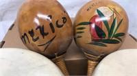 Vintage Bongo Drums and Maracas