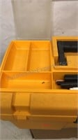 """Plastic Keter Craft Box With Contents 16x8x8"""""""