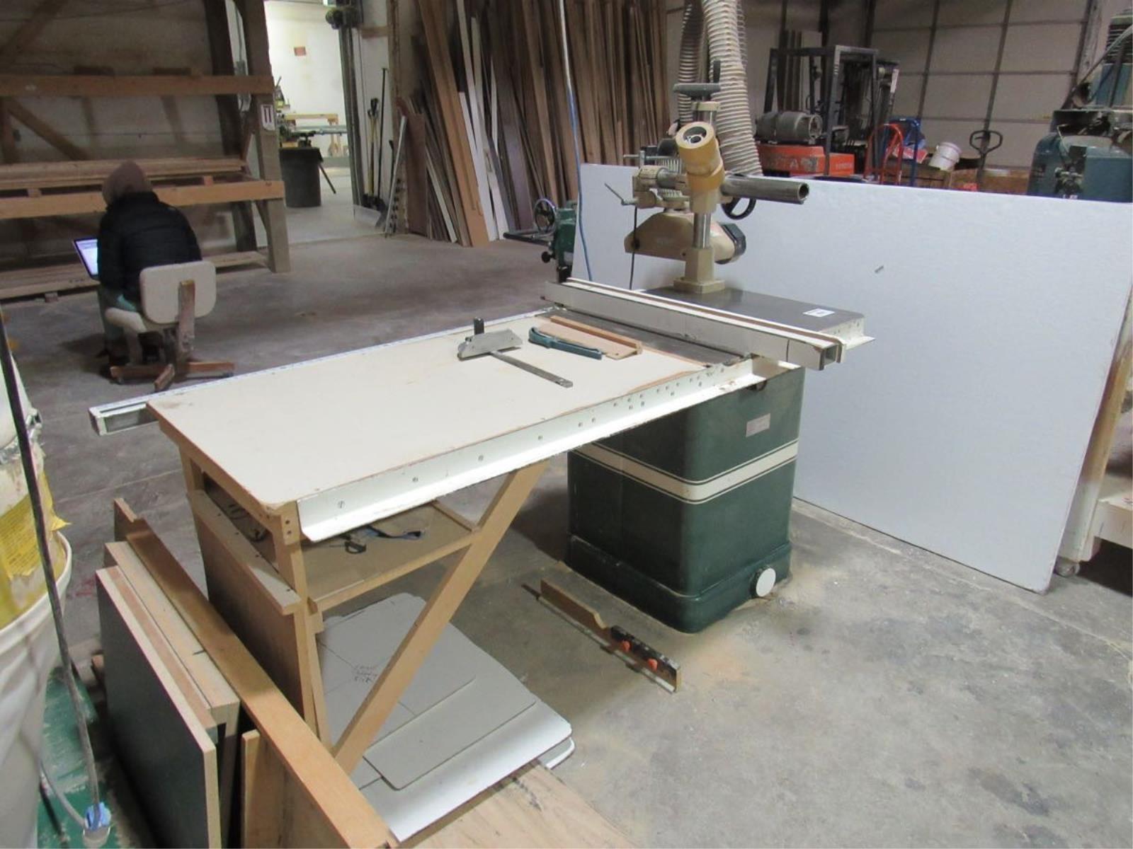 Powermatic 66 table saw w/ Belsaw   Musser Bros  Inc