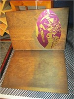 4) Shadow Boxes, Wood Album Cover, Picture Frame