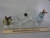 Glass Fruit & Tape Dispenser