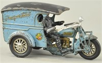 HUBLEY SAY IT WITH FLOWERS MOTORCYCLE