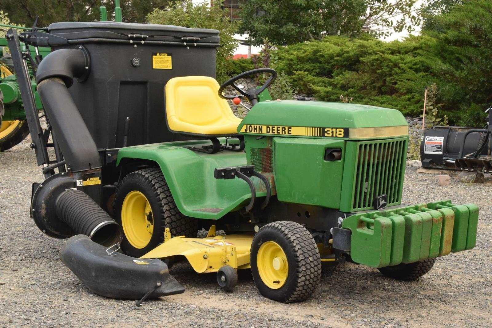 John Deere 318 >> John Deere 318 Lawn Tractor Musser Bros Inc