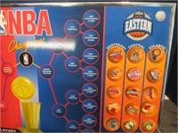 NBA Playoffs Magnetic Wall Chart 17x32 Man Cave