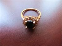 BLACK ONXY RING SIZE 8