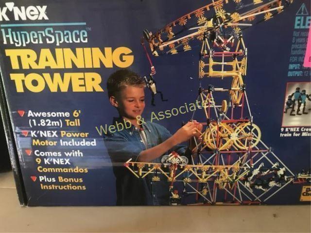 KNEX hyperspace training tower 6' | Webb & Associates