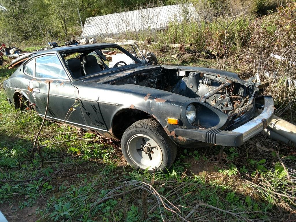 Lot 29 Datsun 280z No Motor Transmission Le