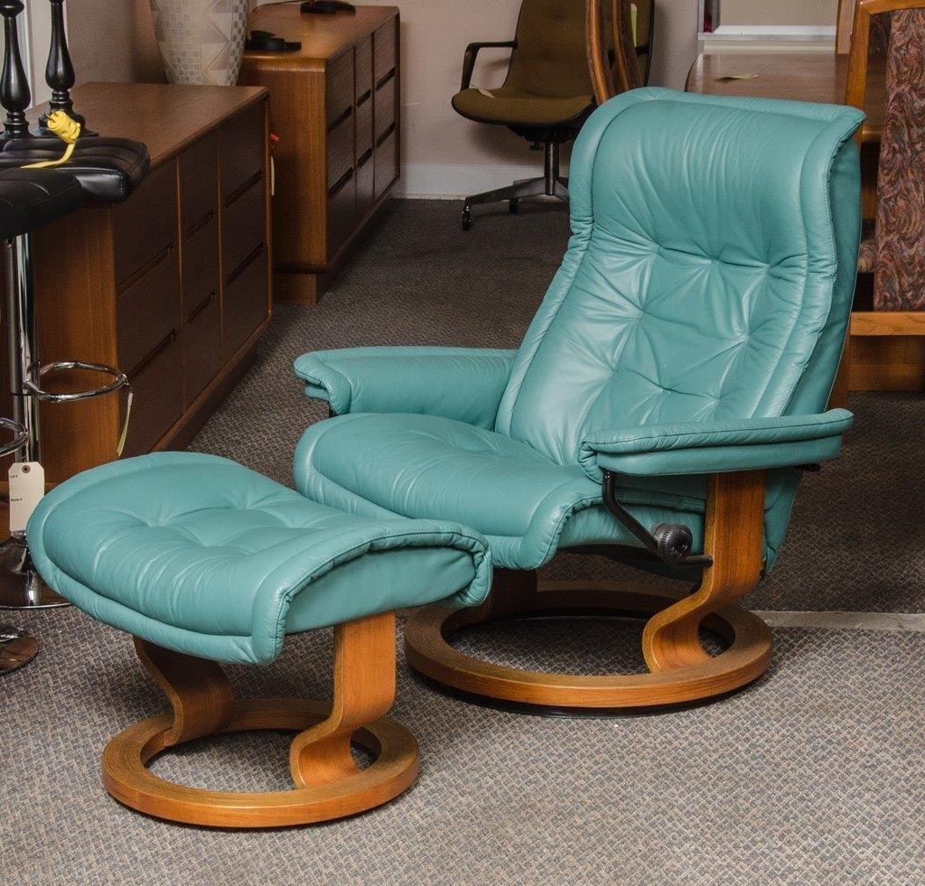 Wondrous Ekornes Stressless Recliner Lounge Chair Danish The K And Unemploymentrelief Wooden Chair Designs For Living Room Unemploymentrelieforg