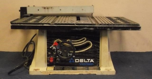 Delta Shop Master Table Saw, | United Country Musick & Sons