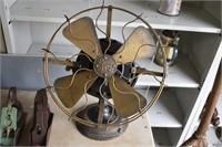 Large Brass GE Fan
