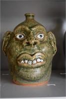 Albert Hodge Face Jug