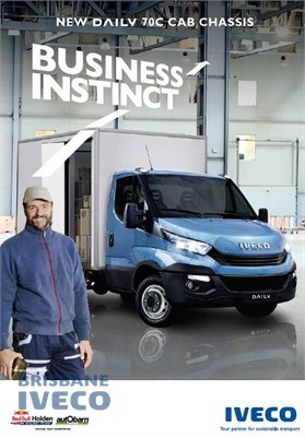 2018 Iveco Daily 70c21 Iveco Trucks Brisbane - Light Commercial for Sale
