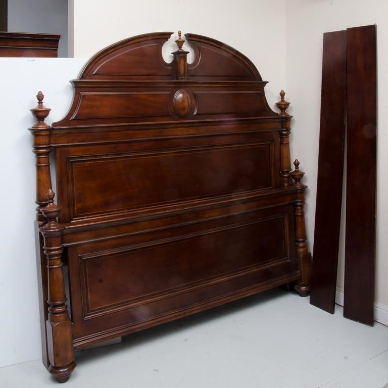 thomasville furniture king size bed  the k and b auction