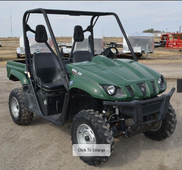 2008 YAMAHA RHINO 450 For Sale in Grainfield, Kansas