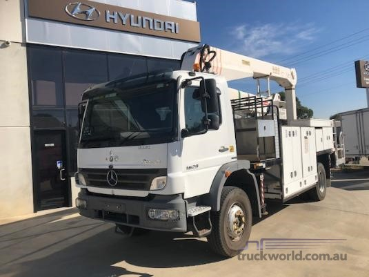 2009 Mercedes Benz Atego 1629 Adelaide Quality Trucks & AD Hyundai Commercial Vehicles - Trucks for Sale