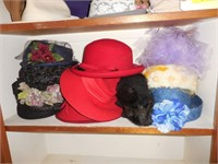 Collection of Ladies Hats