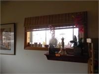 Art Work, Red Shelf, GrandKids Blocks, Decor