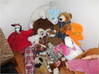 Wood Childs Bear Chair, Doll, Stuffed Animals,