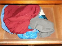 Contents of Shelves and Drawers in Hall: