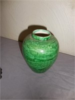 Green Dishes, Vases, Bowls