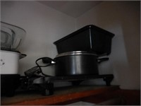 Pots and Pans, Roasters, Crock Pot and More