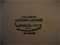 Full set of Autumn Leaves Dinnerware