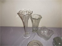 Pyrex Mixing Bowl, Glass Dishes, Vases