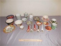 China Spoons, Tea Cups, Bowls