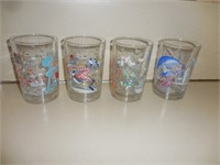 Collectible McDonald Glasses, Juice Glasses