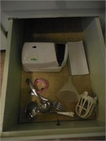 Contents of Kitchen Cupboards and Drawers