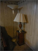 Floor Lamp, Table Lamp, Stand
