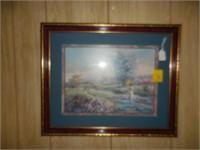 Artwork, Mirror, Clock