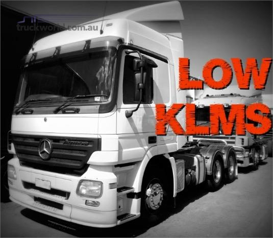 2007 Mercedes Benz Actros 2644 Trucks for Sale