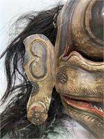 Carved Balinese Hanuman Sugriva Monkey Mask