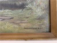 John Lochhead R.B.A. (1886-1921) Oil on Canvas