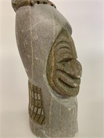 Dan Thomas Soapstone Carving 1988