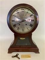 Antique German Balloon Mantle Clock