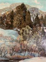 Ernest Alfred Dalton (Canadian 1998-1963) Oil/Pane