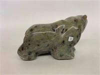 Green Serpentine Bear B.W. Towatujak 1955