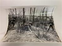 Circa 1916 Canadian Hunting Rats Original Photo