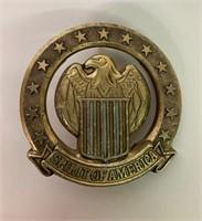 Brass Spirit of America Badge