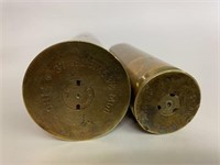 Set of 2 Anti-Aircraft Cartridge Cases