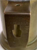 Early Military Fuel Oil Lamp