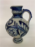 Early Stoneware Handled Pitcher