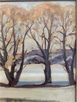 Francis (Frank) William Denton CDN (1896-1987) Oil