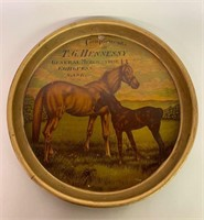 T.G. Hennessy  Antique Beer Tray