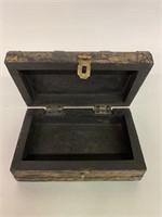 Eastern Lidded Wooden Box