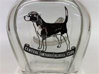 Rare Central Ontario Beagle Club Liquor Decanter