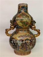 Large Satsuma Handled Urn