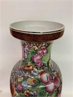 Large Oriental Decorated Vase